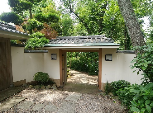 鎌倉山 入口
