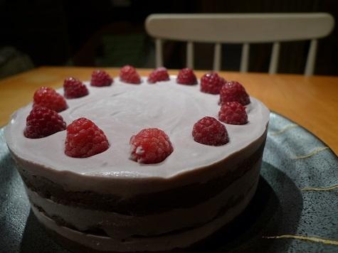 愛莉14歳バースデーケーキ1