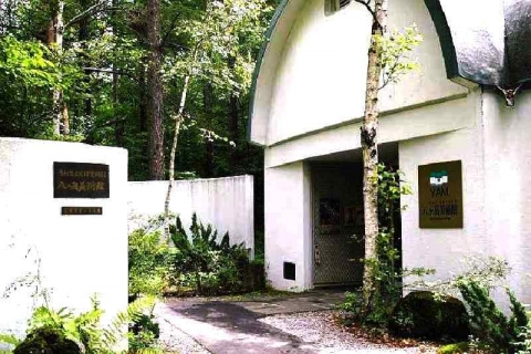 八ヶ岳美術館玄関