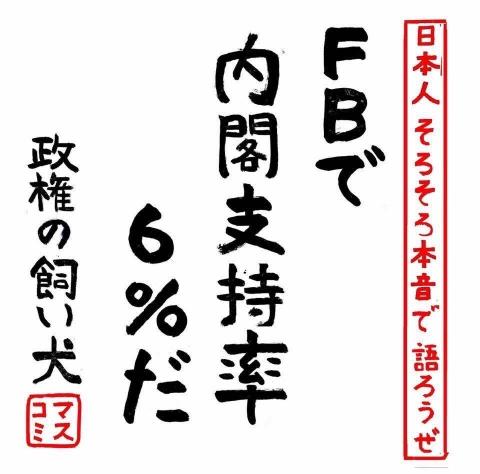 2018-7-25支持率6%