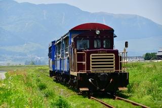 南阿蘇鉄道トロッコ