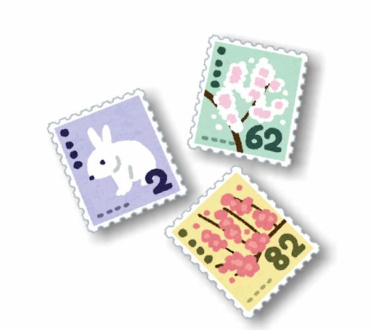 シールタイプの切手とかミニチュアモデル付やTシャツ付の切手まで種類増えてるの知らなかった