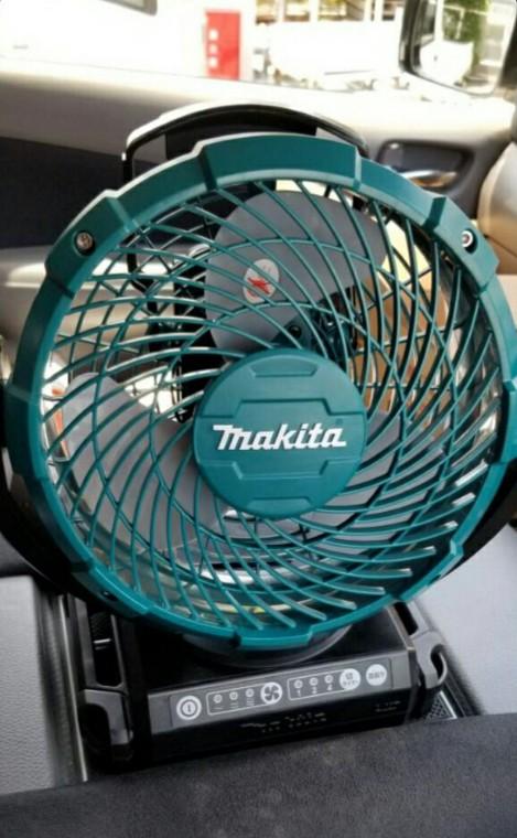 またマキタが新しい充電式ファンを出してきた!今度はCF101と102DZだと