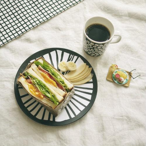 300507 マリメッコ プレート プケッティ サンドイッチ