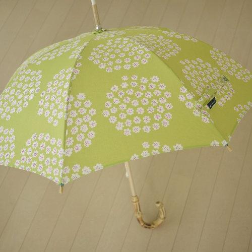 300525 手づくり 日傘 マリメッコ