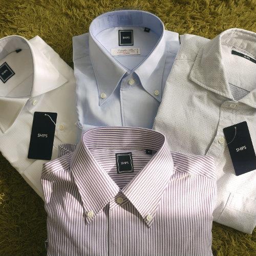 300618 SHIPS ワイシャツ