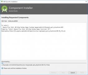AVD Manager SDK Quickfix Installations