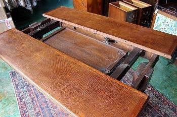イギリスアンティーク家具 エクステンディング/テーブル アンティーク/伸縮式テーブル2
