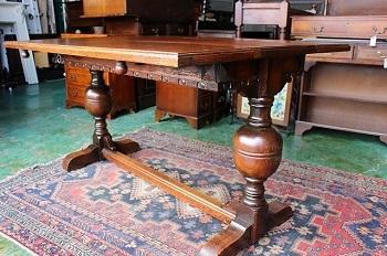 イギリスアンティーク家具 エクステンディング/テーブル アンティーク/伸縮式テーブル4
