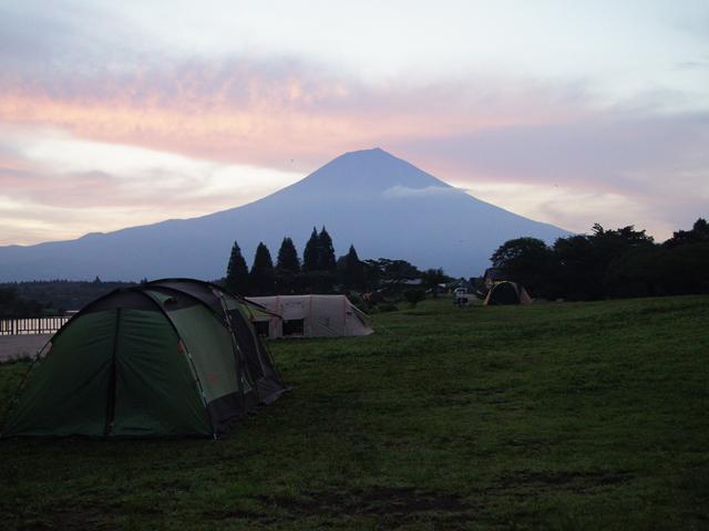 田貫湖キャンプ場3日目