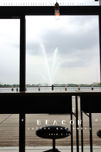 BEACON◇店内からの眺め
