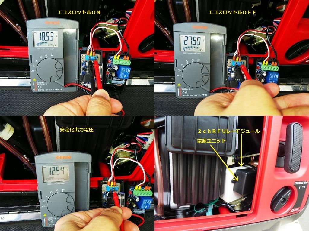 リモートエコスロットルエンジンストップスイッチ組み込み