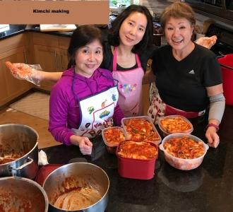 made lots of kimchi