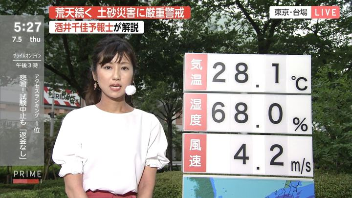 2018年07月05日酒井千佳の画像03枚目