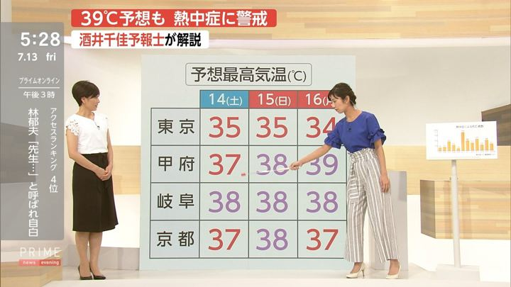 2018年07月13日酒井千佳の画像04枚目