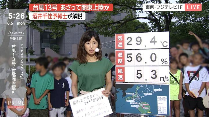 2018年08月06日酒井千佳の画像01枚目