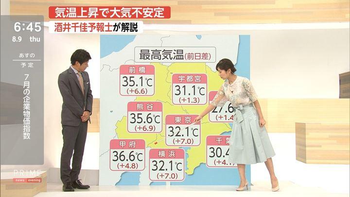 2018年08月09日酒井千佳の画像11枚目