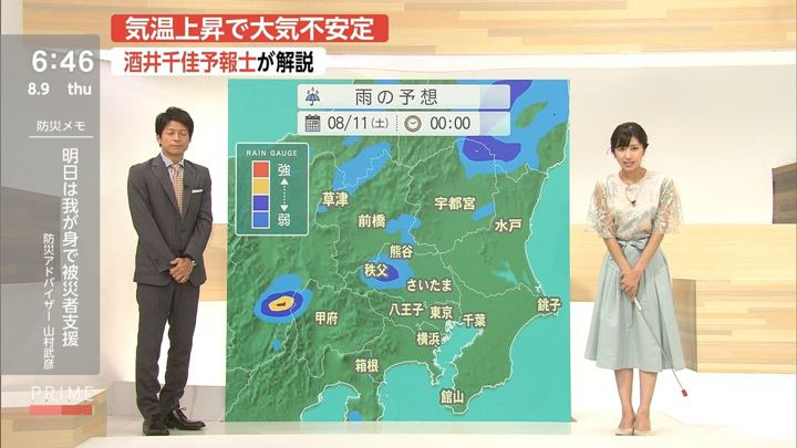 2018年08月09日酒井千佳の画像12枚目