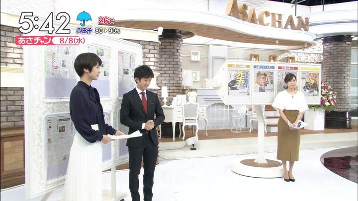 笹川友里 あさチャン! ビビット (2018年08月08日,09日,10日放送 33枚)