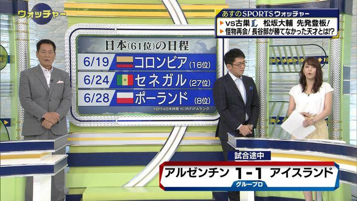 2018年06月16日鷲見玲奈の画像17枚目