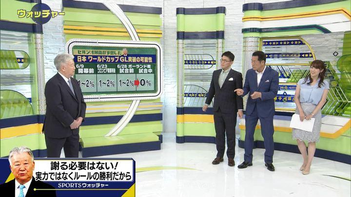 2018年06月30日鷲見玲奈の画像35枚目