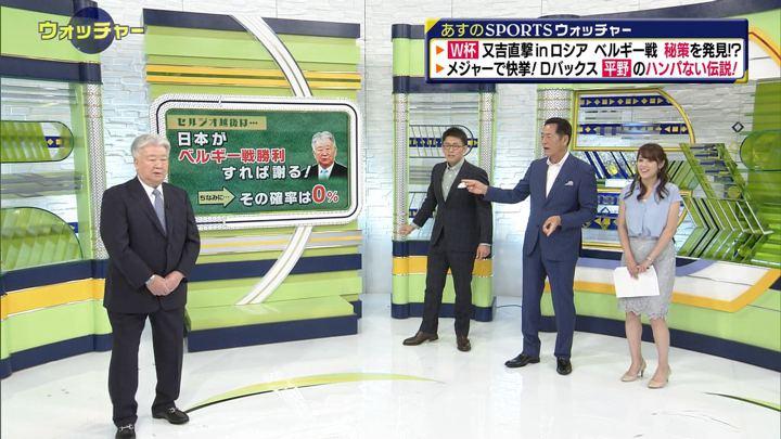 2018年06月30日鷲見玲奈の画像37枚目
