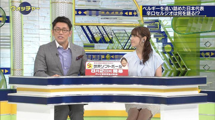 2018年07月07日鷲見玲奈の画像17枚目