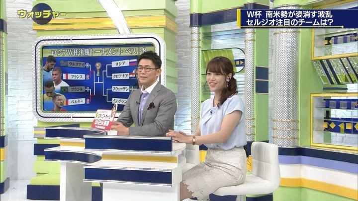 2018年07月07日鷲見玲奈の画像25枚目
