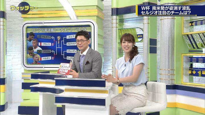 2018年07月07日鷲見玲奈の画像26枚目