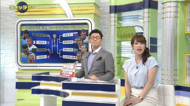 2018年07月07日鷲見玲奈の画像27枚目
