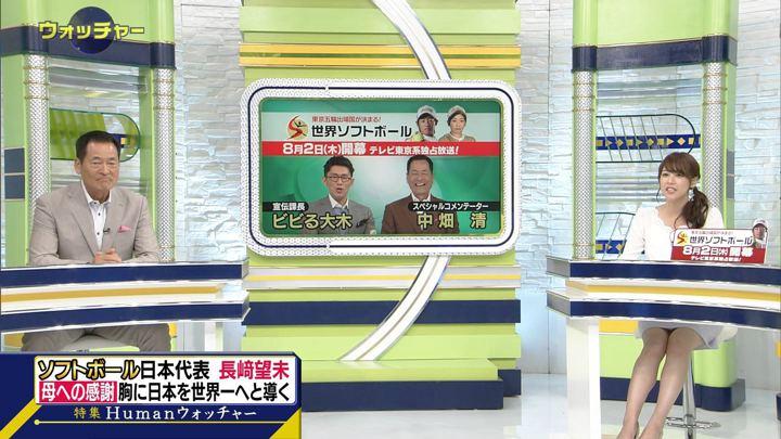 2018年07月28日鷲見玲奈の画像13枚目