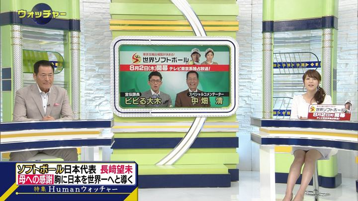 2018年07月28日鷲見玲奈の画像14枚目