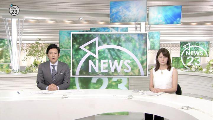 宇内梨沙 NEWS23 (2018年07月09日,10日放送 34枚)