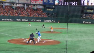 プロ野球東京ドーム超満員
