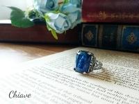 ドラゴンズブレス指輪-カットブルー-2