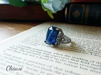 ドラゴンズブレス指輪-カットブルー-3