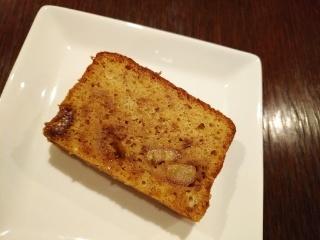 キャラメルバナナケーキ