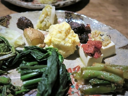 18-6-7 1山菜ポテサラ