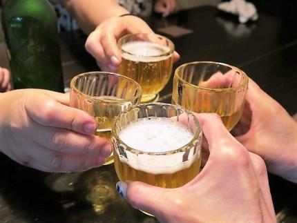 IMG_0203 ビア乾杯