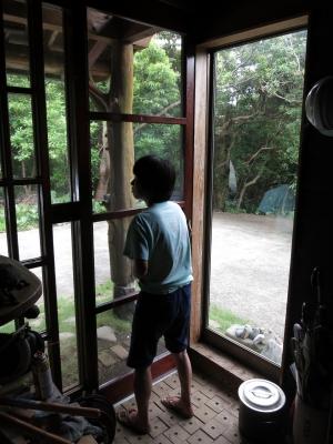 180710-14=ぷゅ,庵玄関網戸設置検査 a庵玄関