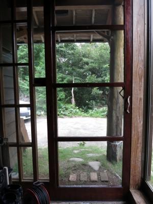 180710-16=庵玄関網戸張り替え設置fm内側 a庵玄関