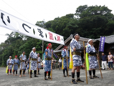 180727-35=ONA祇園まつり棒踊り by成年 aONA温泉前
