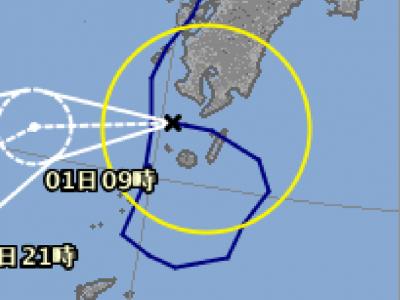 180731-PNG2=2018年台風12号進路(07:31-21時)