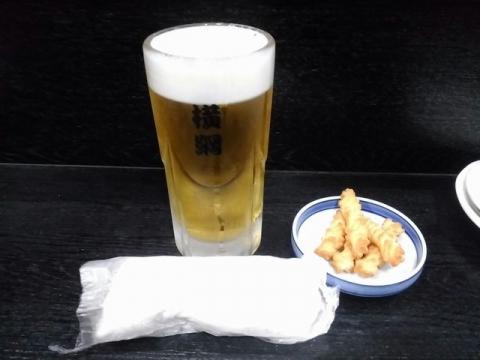 やきとり横綱・H29・6 生ビール