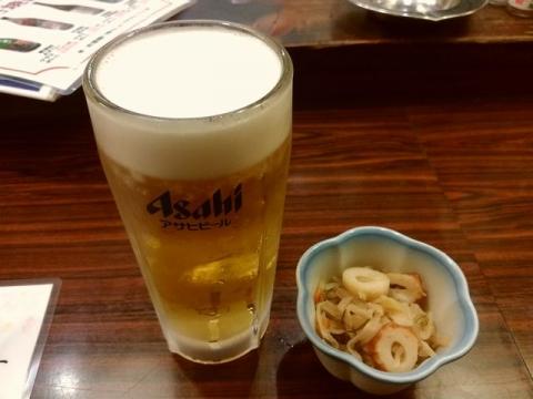 よさ来い・H29・6 生ビール
