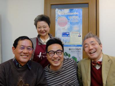 上田市長、三川、ぼく、福井500