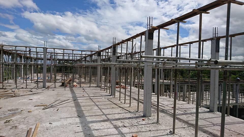 ①新校舎建設