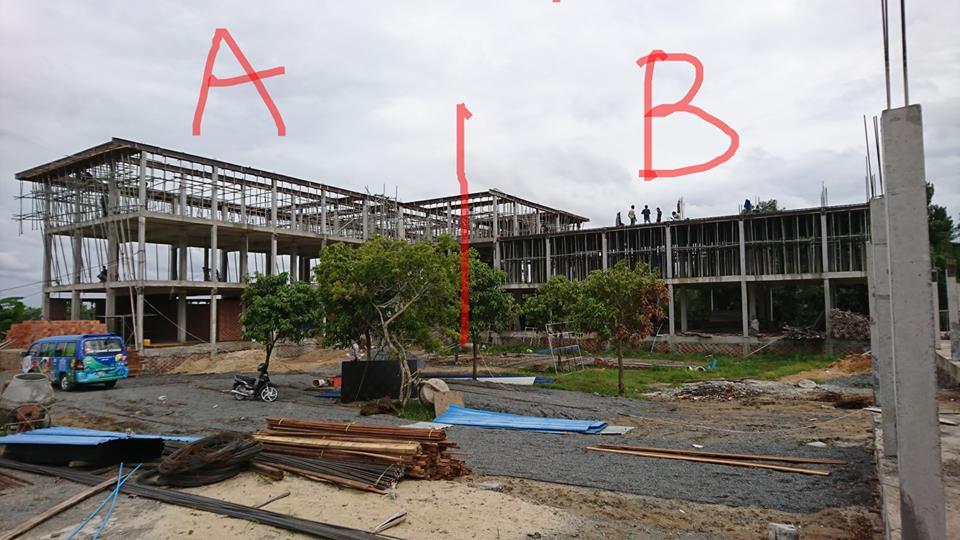 新校舎建設④