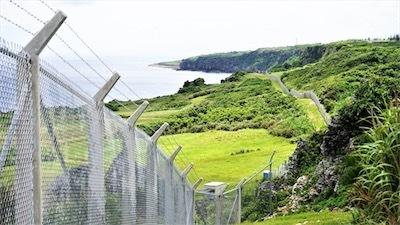 金網できた伊江島の万里の長城Dg7cvRBU8AAJ-Of