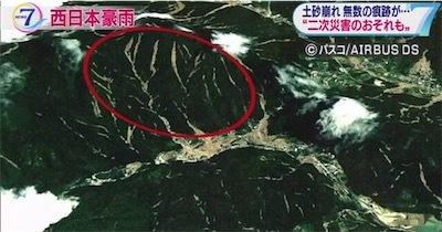 aa衛星画像で無数の土砂崩れ明らかにbMpsCHBI